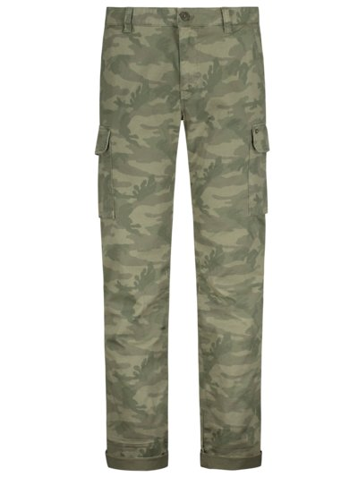 Cargohose im Camouflage-Muster, Chile in OLIV