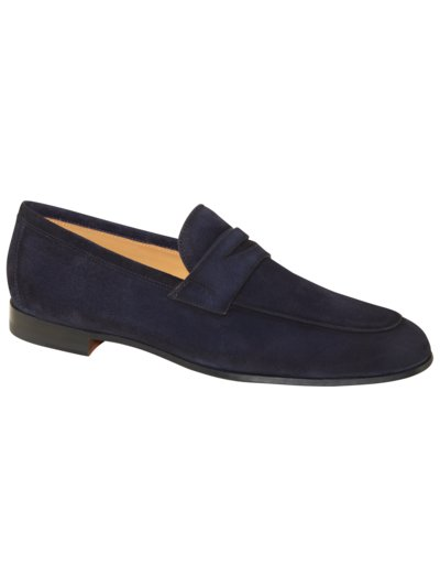 Loafer in Veloursleder in MARINE