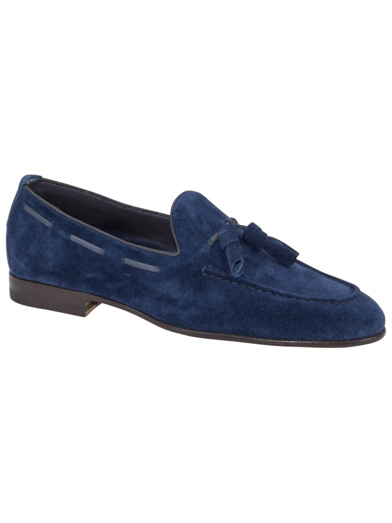 Loafer in Veloursleder in ROYAL