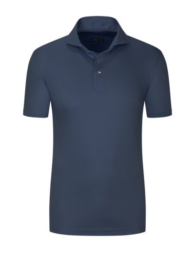 Hochwertiges Jersey-Poloshirt, Slim Fit in ROYAL
