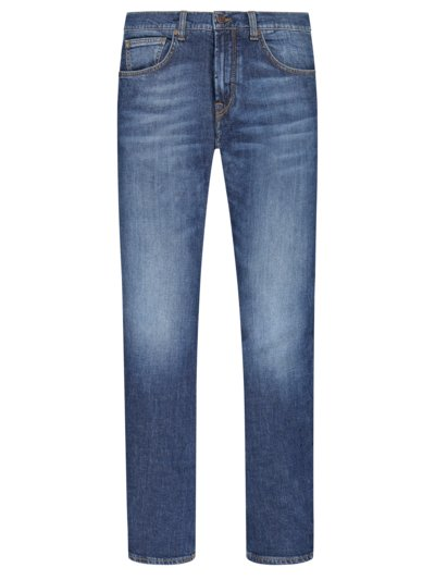 5-Pocket Jeans mit Eco-Denim, John, Slim Fit in DENIM