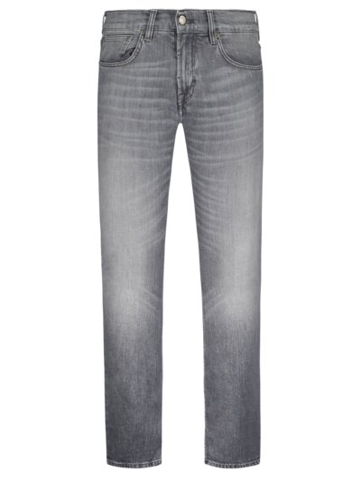 Jeans mit Eco-Denim, John, Slim Fit in GRAU