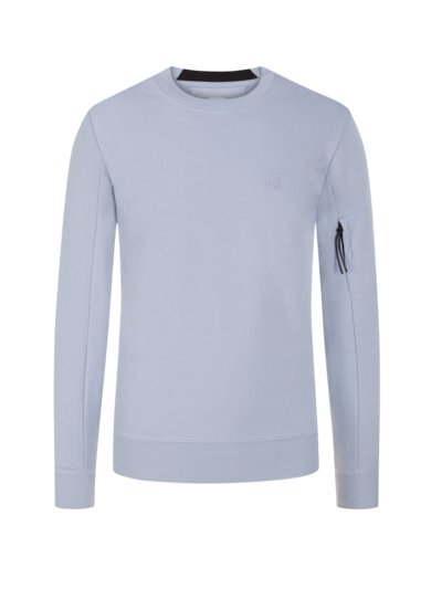 Modisches Sweatshirt in HELLBLAU