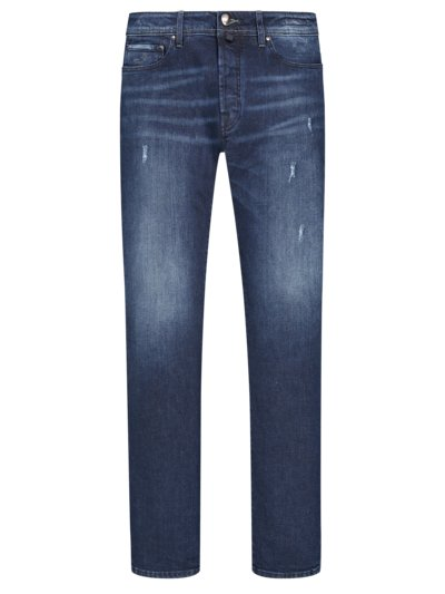 Denim-Jeans mit Stretchanteil, J622 in MARINE