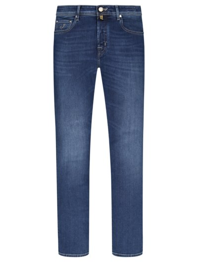 Jeans im Washed-Look, J688 in BLAU