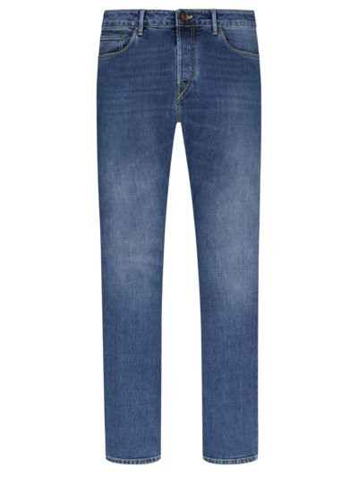 Jeans in 5-Pocket Form, Ravello in HELLBLAU