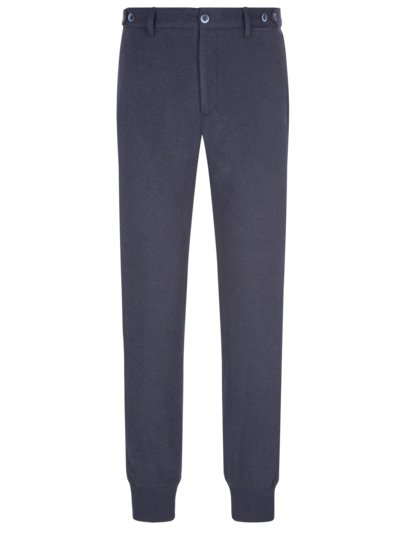 Joggpant mit Woll-Anteil, Giorgio, Slim Fit in MARINE