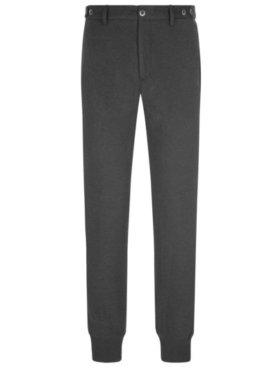 Joggpant mit Woll-Anteil, Giorgio, Slim Fit in ANTHRAZIT