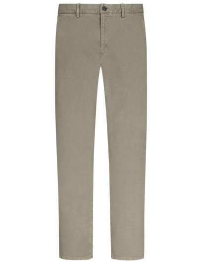 Chino in Minimalstruktur, Thiago, Slim Fit in GRAU