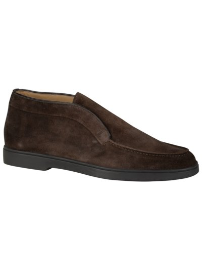Loafer in Chukka Form in BRAUN