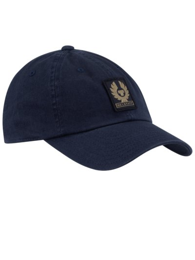 Cap mit Logo-Patch in MARINE