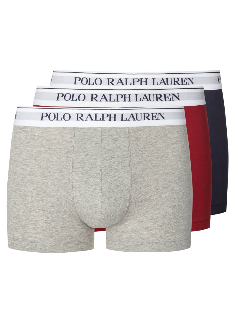 3er Pack Boxer Trunk in BORDEAUX