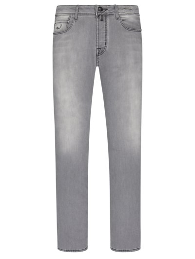 Jeans in leichtem Denim, J688 in GRAU