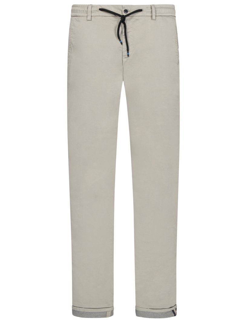 Travel-Joggpant, Milano, Extra Slim Fit in BEIGE