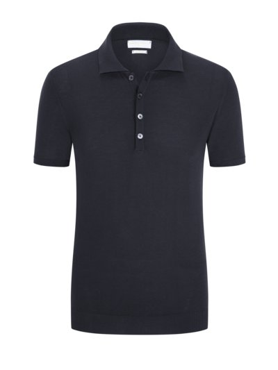Poloshirt in 'Dry Cotton' Qualität in MARINE