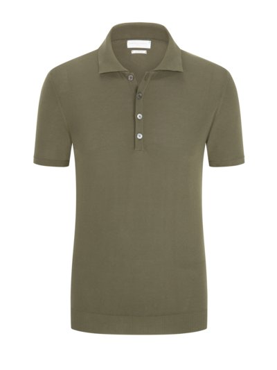 Poloshirt in 'Dry Cotton' Qualität in OLIV