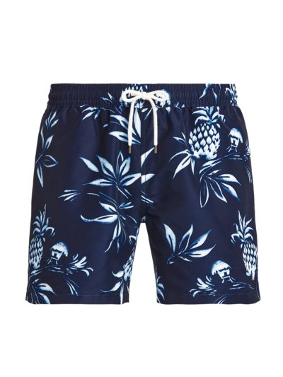 Badehose mit Muster in MARINE