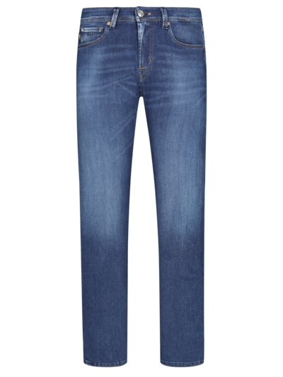 Hochwertige Jeans, Michelangelo, Slim Fit in BLAU
