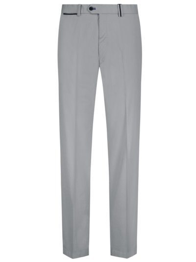 Chino mit Stretchanteil, Peaker-S, Regular Fit in GRAU