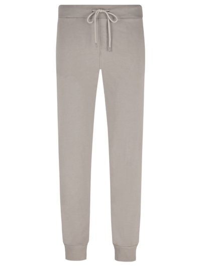 Sweatpants in reiner Baumwolle in TAUPE