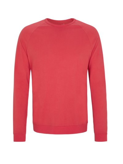 Langarmshirt in Soft-Touch Qualität in ROT