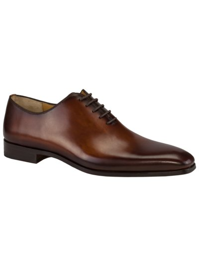 Businessschuh, Wholecut Oxford in BRAUN