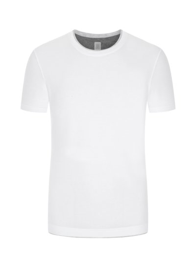 Modisches T-Shirt in WEISS