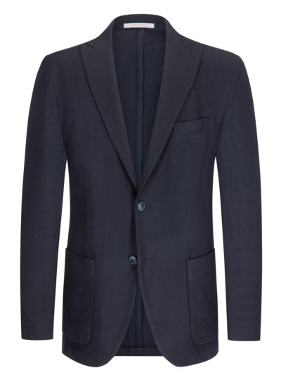 Softer Strickblazer in MARINE