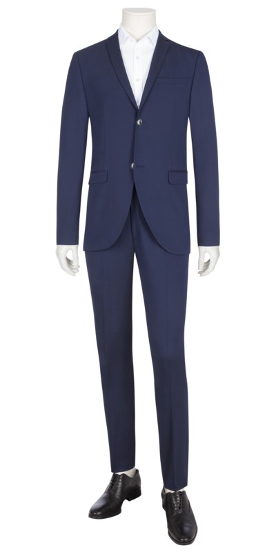 Baukasten-Anzug, Slim Fit, Jil/Gordon in ROYAL