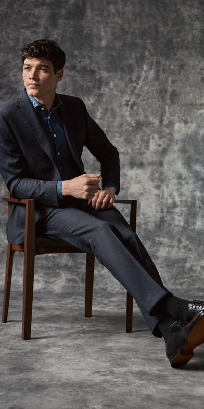 Zegna Casual Outfit 2 in GRAU