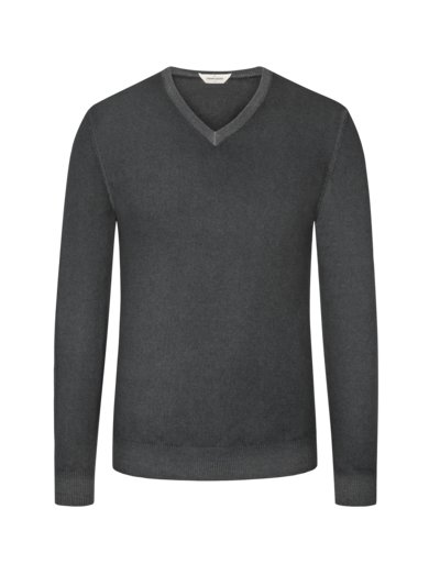 Pullover, Regular Fit in GRAU