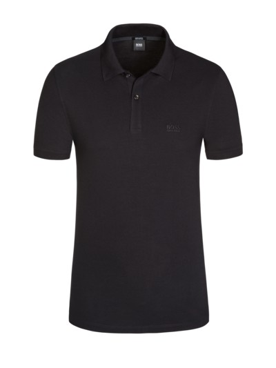 Poloshirt, Pallas, Regular Fit in SCHWARZ