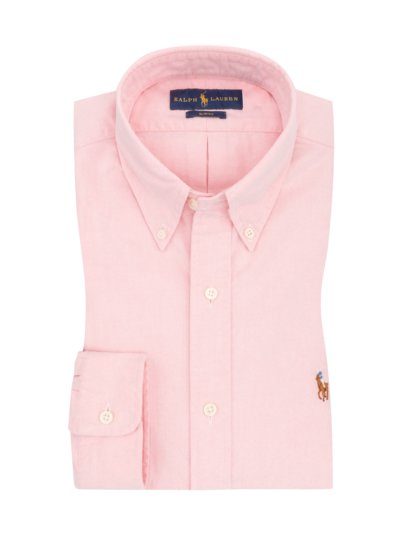 Oxford-Freizeithemd, Slim Fit in ROSE