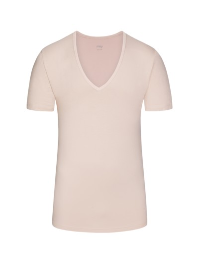 Das Drunterhemd, V-Neck in BEIGE
