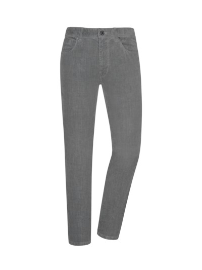 Cordjeans, Regular Fit in GRAU
