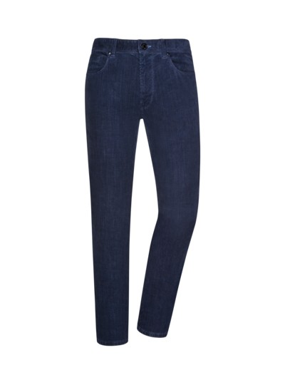Cordjeans, Regular Fit in BLAU