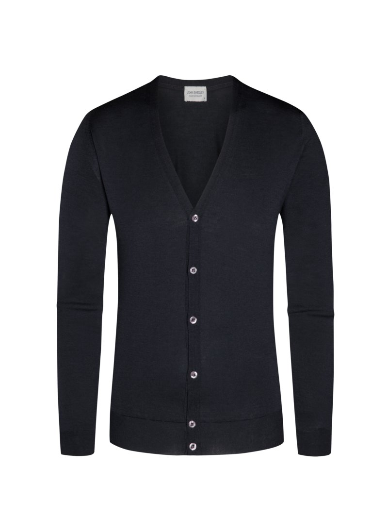 Strickcardigan, Petworth, Regular Fit in SCHWARZ
