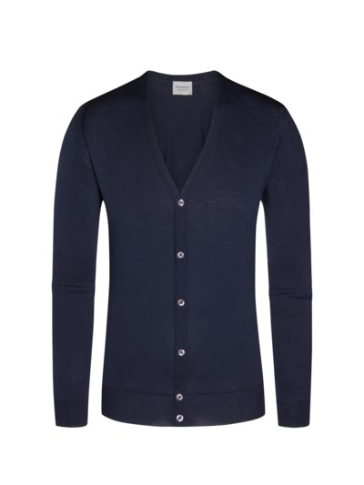 Strickcardigan, Petworth, Regular Fit in BLAU