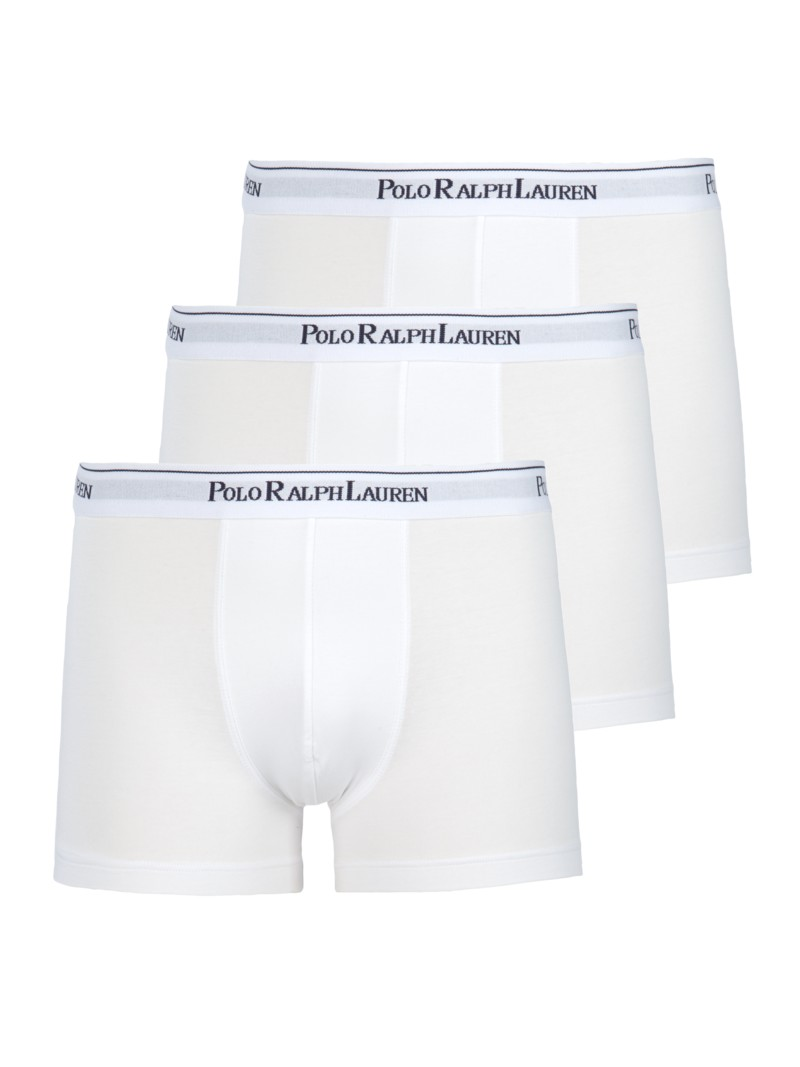 Boxershorts, 3er Pack in WEISS