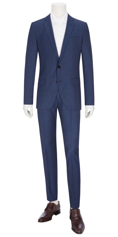 Businessanzug, Huge6/Genius5, Slim Fit in ROYAL