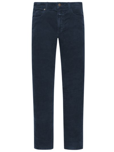 5-Pocket-Cordhose, Unity Slim in BLAU