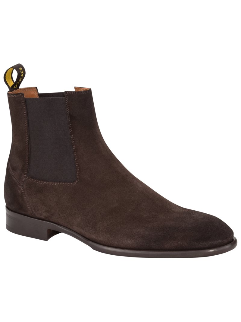 Chelsea Boot in Veloursleder in BRAUN