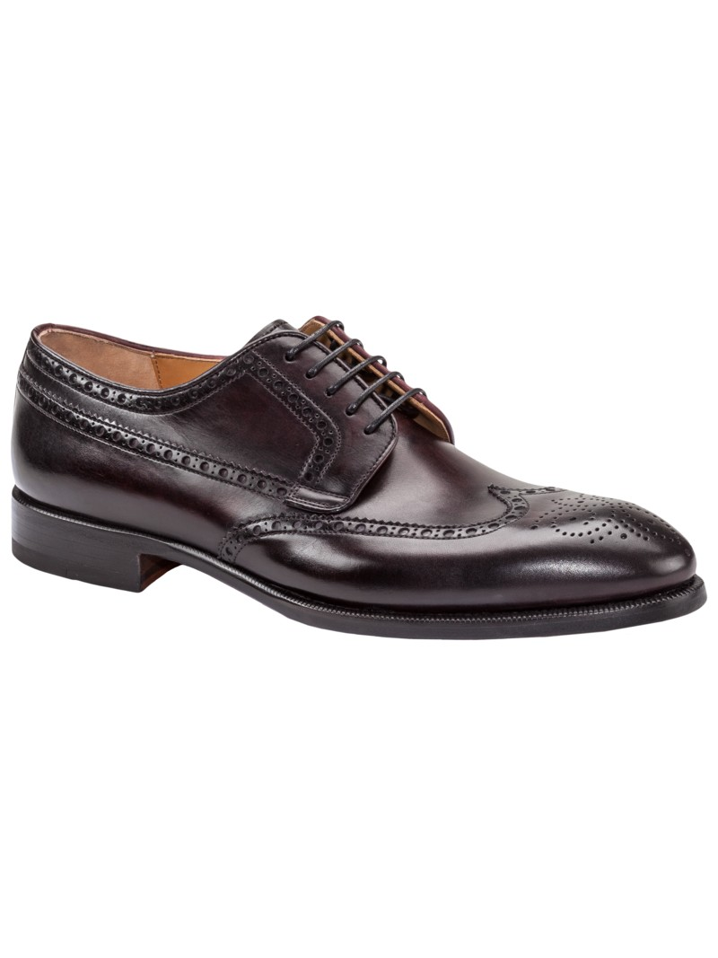 Budapester, Full-Brogue in BORDEAUX
