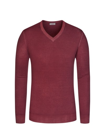 Pullover, Regular Fit in ROT