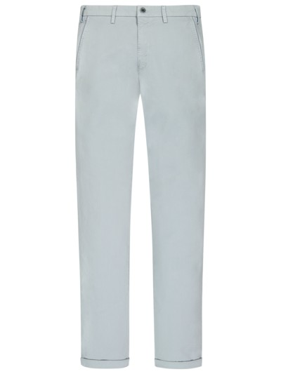Chino mit Stretchanteil, Torino, Slim Fit in HELLBLAU