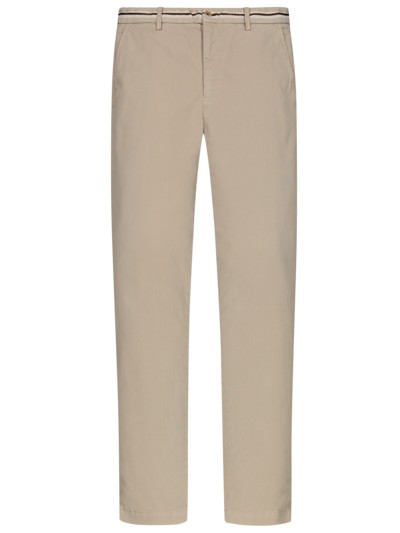 Chino mit Stretchanteil, New York, Slim Fit in BEIGE