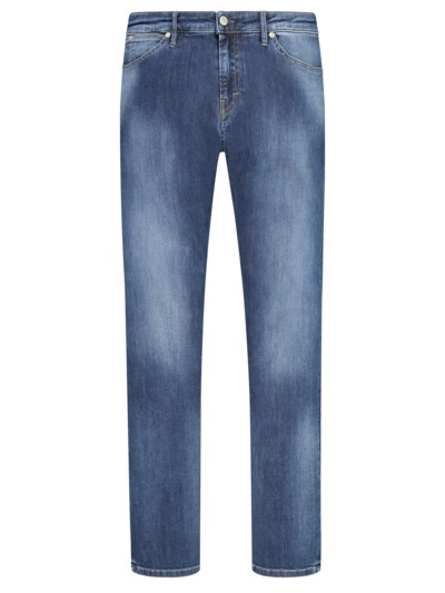 Jeans mit Stretchanteil, Slim Fit in BLAU