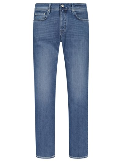 Denim-Jeans mit Button-Fly, J688 in HELLBLAU