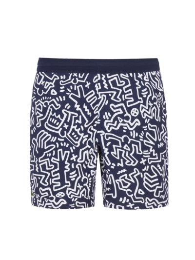 Modische Badeshorts, Keith Haring Kollektion in MARINE